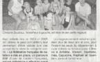 Ouest France : 23 janvier  2013 : 7 enfants obtiennent le pass'compétition