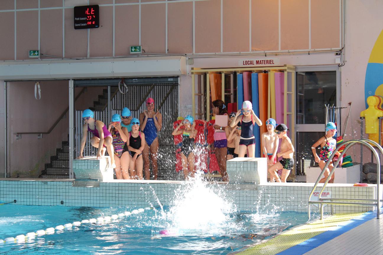 Changement de date d'entrainement à la piscine Grâce de Dieu