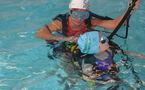 Baptême de plongée à la piscine