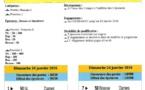 Natathlon Poussins Plot 1, le 24 jenvier 2016 à Colombelles