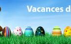 Vacances de Pâques: Piscine fermée du 03 au 17 avril. Reprise des cours le lundi 18 avril.