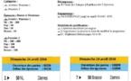 Dimanche 1er Mai, Natathlon Poussins Plot 3 Hérouville saint Clair